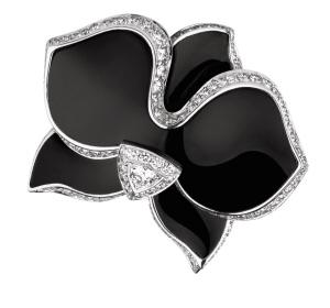 Cartier Anneau pour cocktail ou soirée, Matières: Diamant, Onyx et Platine