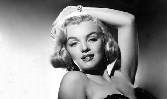 Monroe en noir et blanc