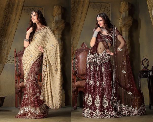 Robe de soiree style indien