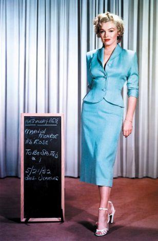 Monroe portant costume de femme de Dorothy Jeakins pour Niagara