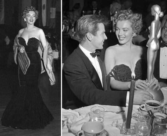 Quand Monroe a reçu l'Actrice la plus jeune de Golden Globes, elle porte du Cassini