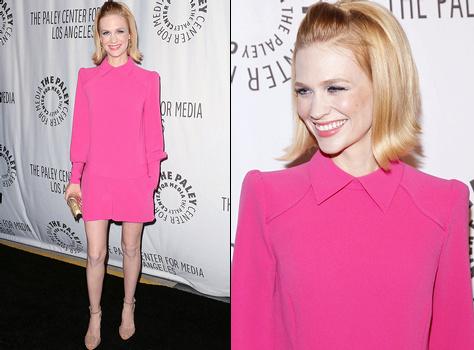 robe cocktail rose courte avec longues manches