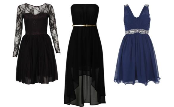 Petite robe noire avec manche en dentelle, petite robe noire bustier, robe de cocktail courte marine décolleté en V
