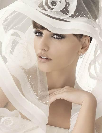 voile de mariage de Penelope Cruz