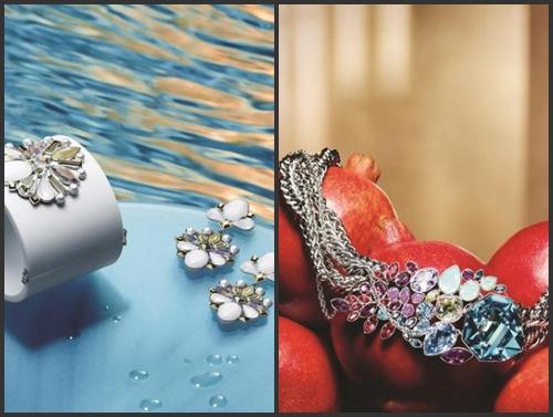 Bracelet Triumphal et collier Tropical de Swarovski 2013, latino-amérique