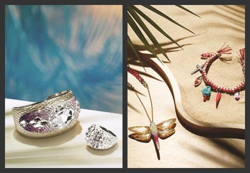 Bracelet Trema, collier Tilly et bracelet Torpedo de Swarovski 2013