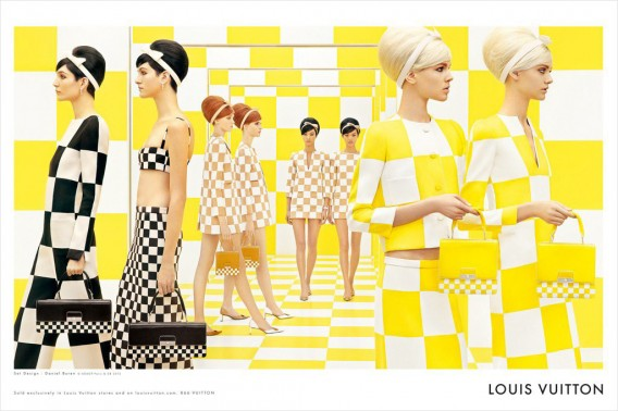Louis Vuitton Printemps Été 2013 : collection carreaux en damier