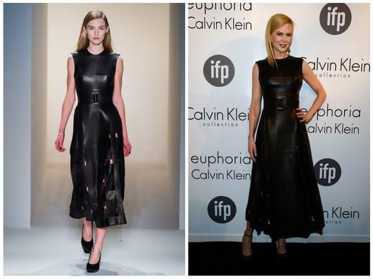 En tant qu'égérie de la marque Calvin Klein, Nicole Kidman a opté une robe CK pour participer au jury de 66e édition du Festival Cannes