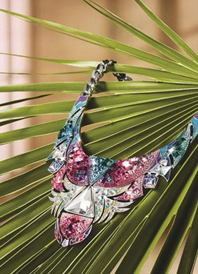 Collier latino-amérique Tangara de Swarovski 2013