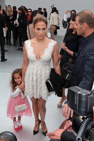 Jennifer Lawrence avait amené sa fille Emme Maribel Muniz pour lui donner un petit cours sur la mode