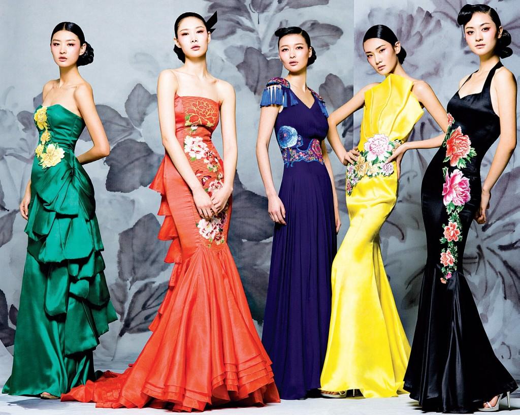 Les robes de soirées avec les styles chinois