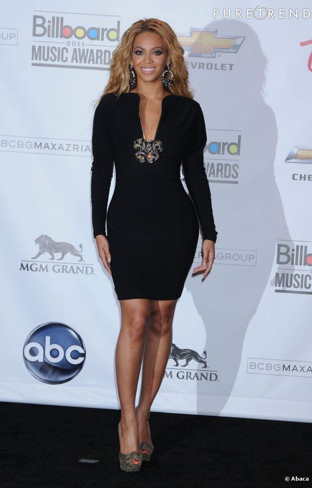 Beyoncé en robe noire Lanvin