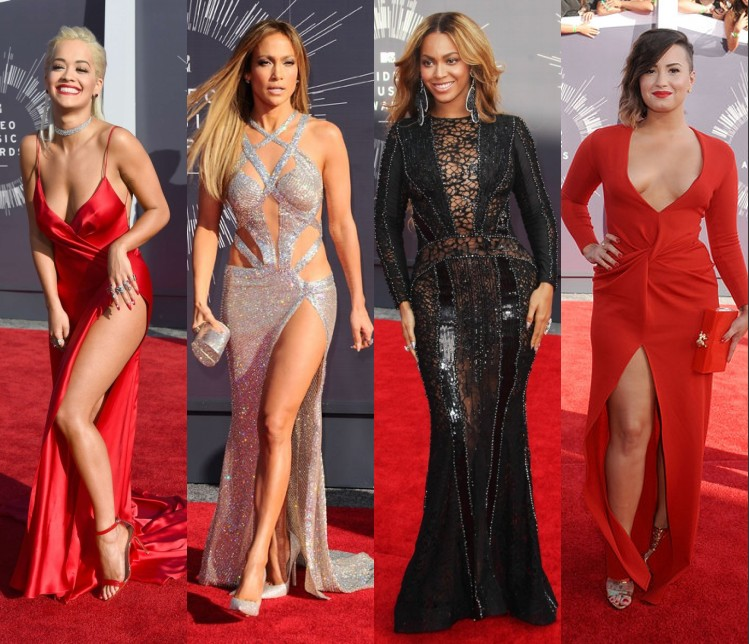 les stars gagent un standing ovation lors de leurs sorties aux MTV video music awards 2014