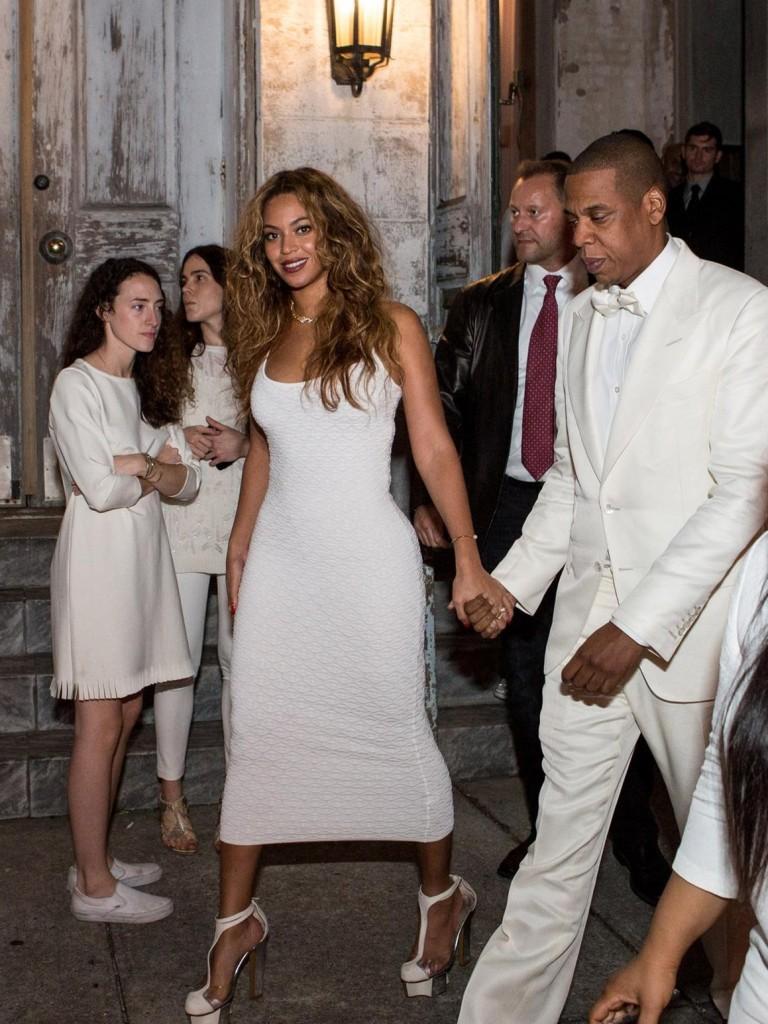 Beyoncé et son mari assistent au mariage de Solange