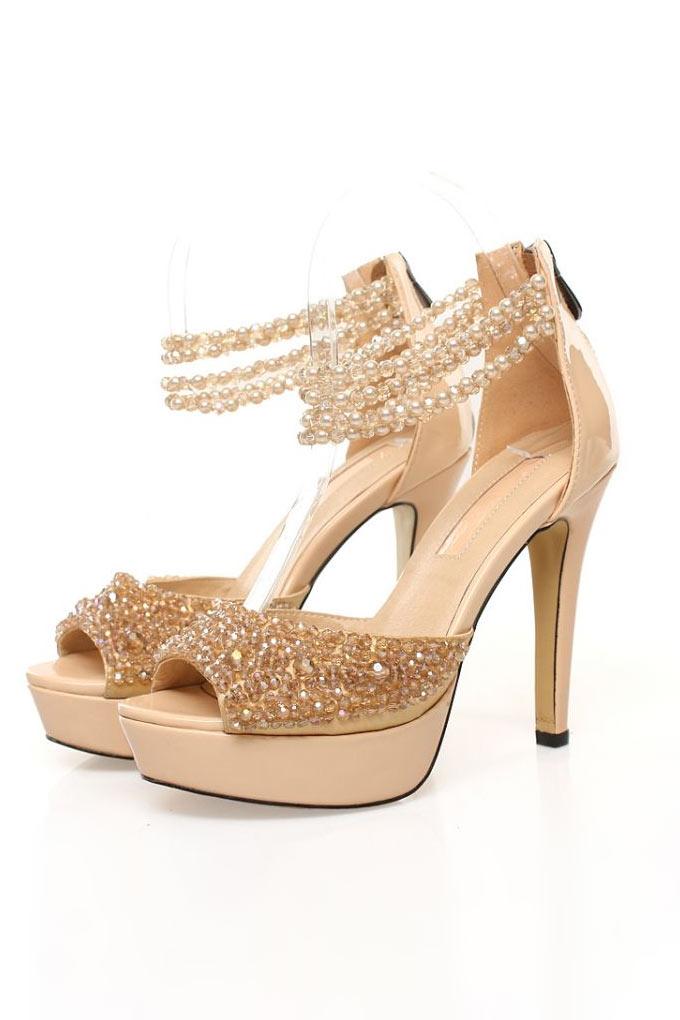 chaussures-bal-soiree-mariage-talon-haut-dore