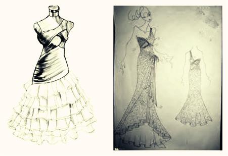 asymétrique robe forme chic pour un cocktail ou bal