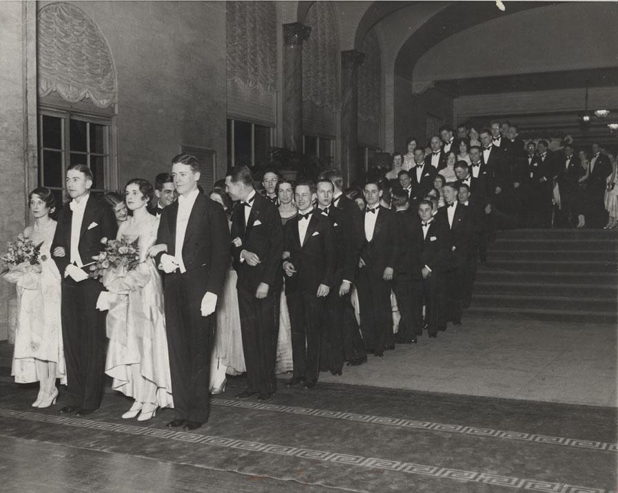le prom 1930, avant le bal