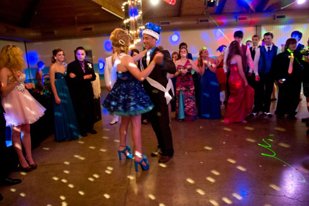 danser au bal de prom