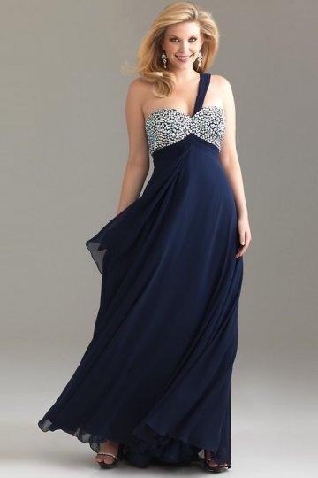 robe-pour-grande-taille-asymetrique-en-mousseline