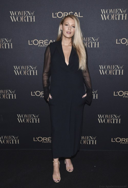 Actress Blake Lively attends the 2016 L'Oreal Women of Worth Awards at The Pierre Hotel on Wednesday, Nov. 16, 2016, in New York. (Photo by Evan Agostini/Invision/AP)
