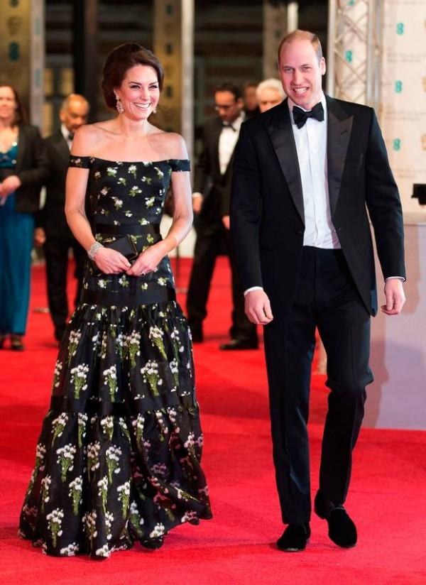 Kate Middleton et Prince William aux BAFTA Awards 2017