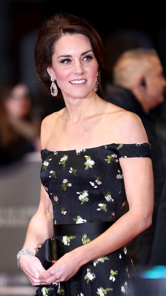 look duchess Catherine aux BAFTAs 2017