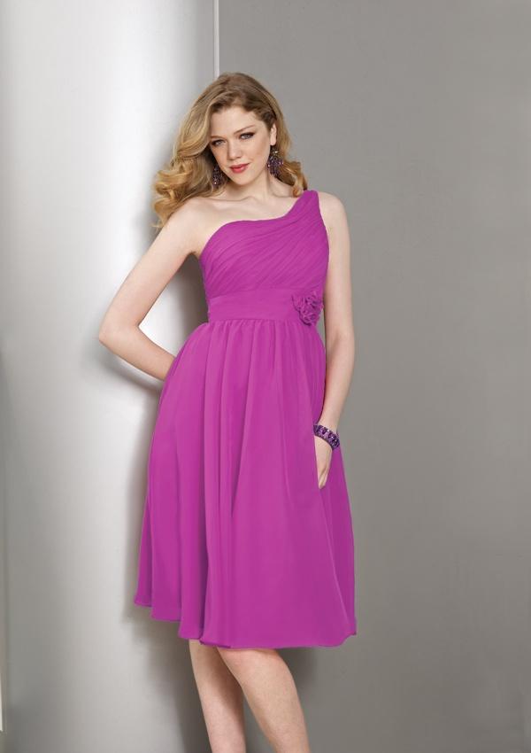 robe chic asymétrique prune grande taille