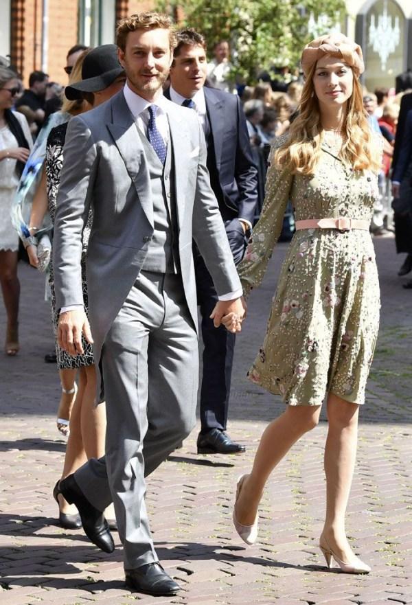 Pierre Casiraghi et Béatrice Borromeo tenues pour mariage 2017