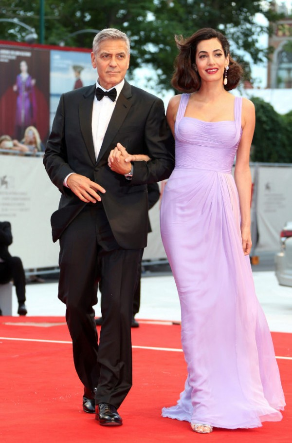 George et Amal Clooney au Festival de Venise 2017