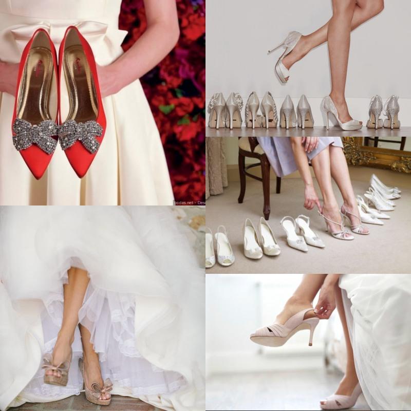 Chaussures pour mettre sur robe de soirée