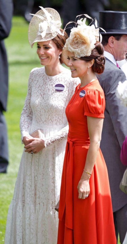 tenue Kate et Mary Ascot 2016