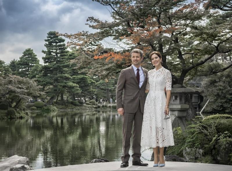 Le prince Frederik de Danemark et Mary de Danemark