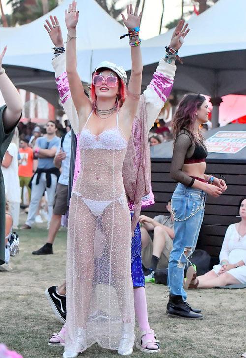 Bella Thorne Coachella 2018