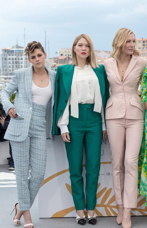 Kristen Stewart, Léa Seydoux et Cate Blanchett Festival de Cannes 2018