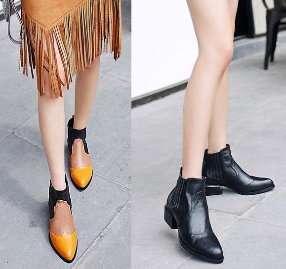 bottes chelsea femme vintage 2019