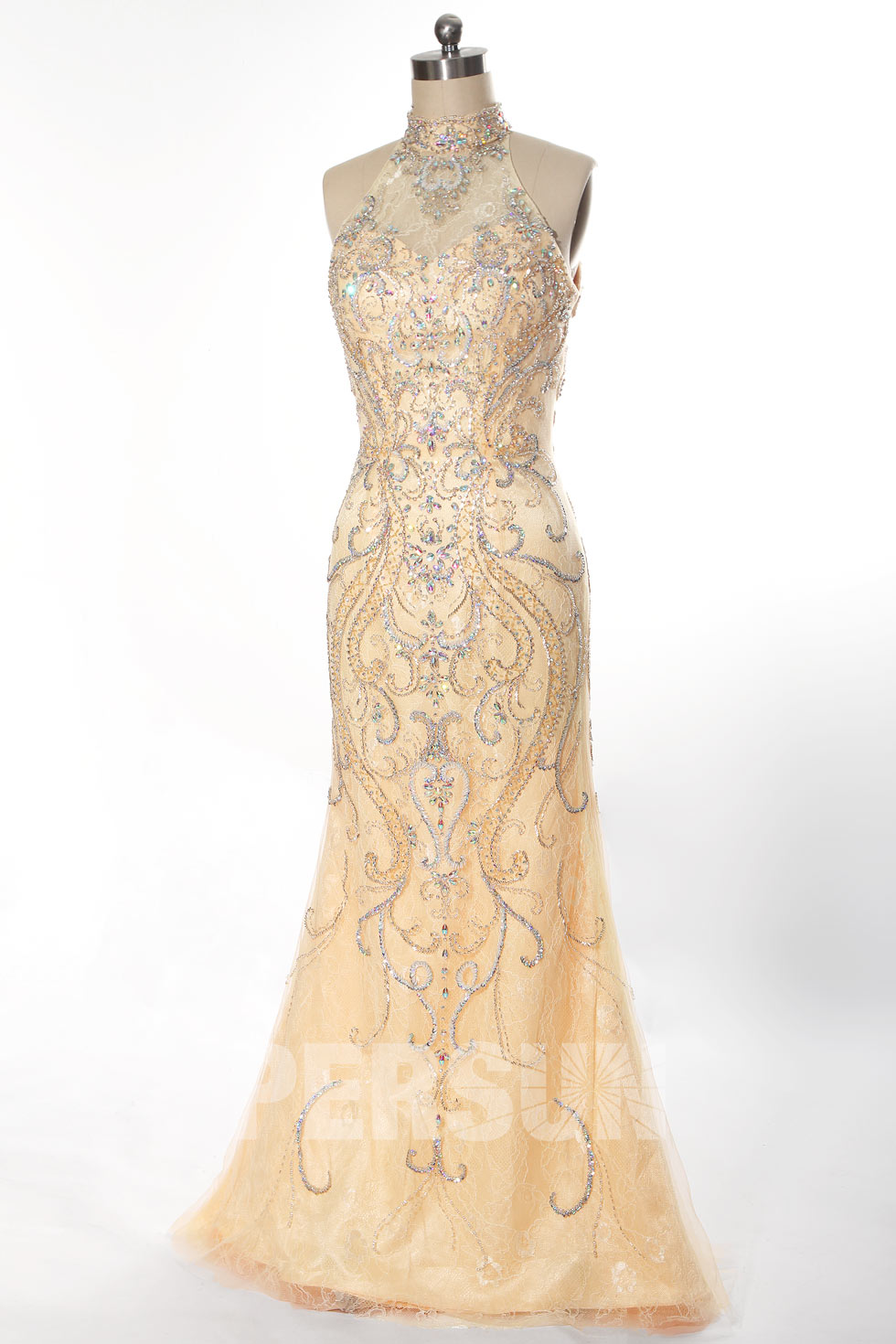 robe de sorée sirène orné de strass