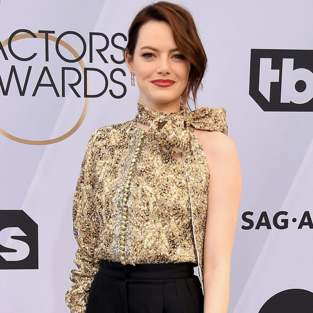 maquillage d'Emma stone aux SAG Awards 2019