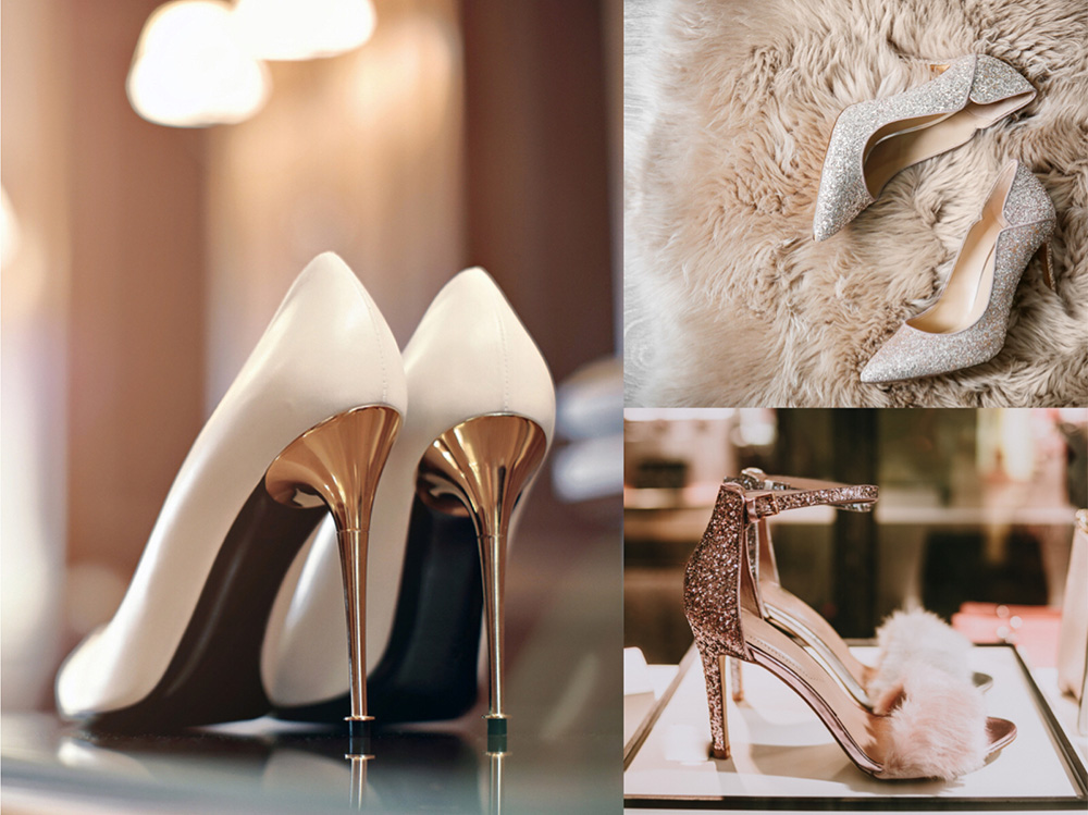 chaussures de soirée à talon haut