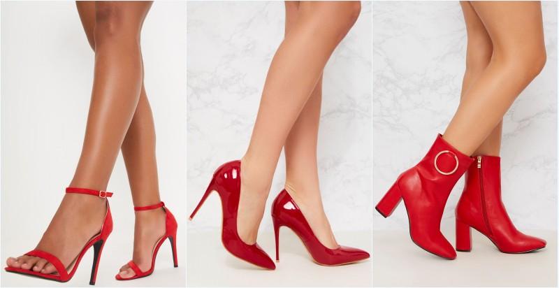 chaussures rouges pour femme