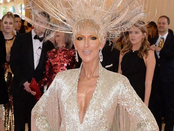 coiffure de Céline Dion au Met gala 2019