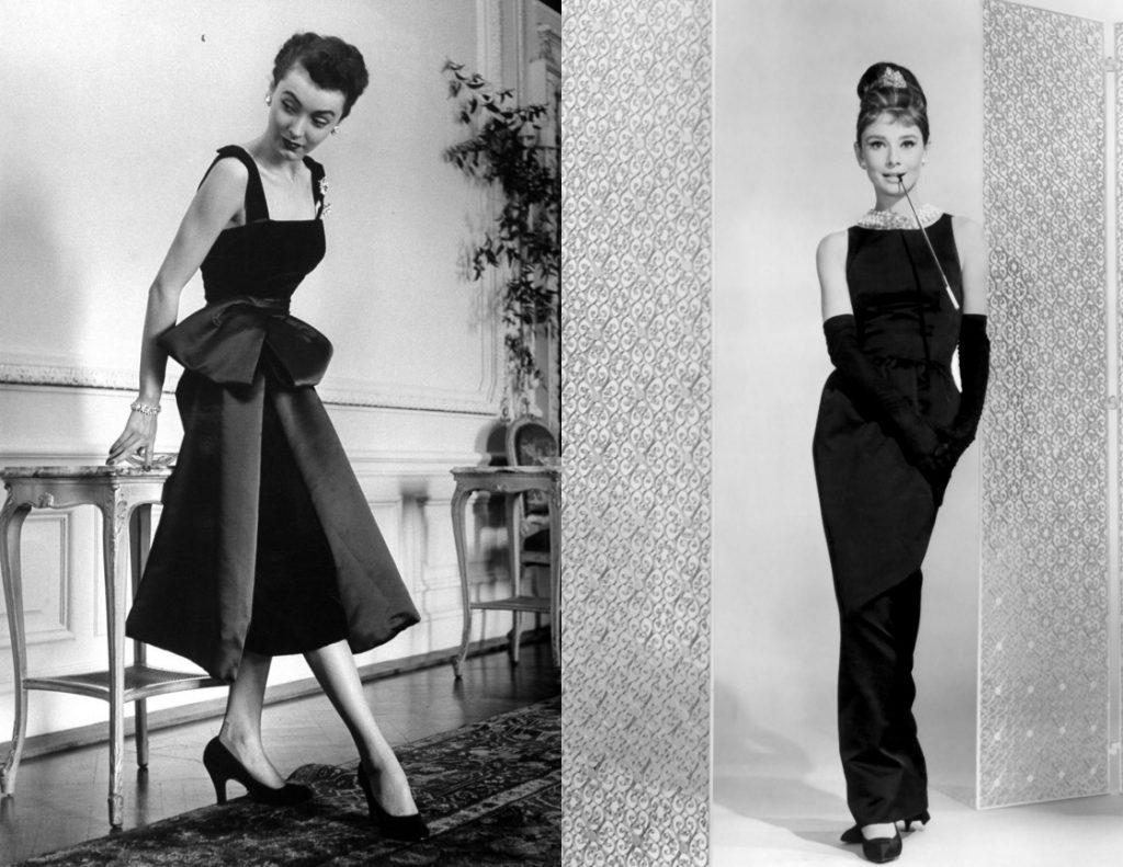 évolution de robe de cocktail noire