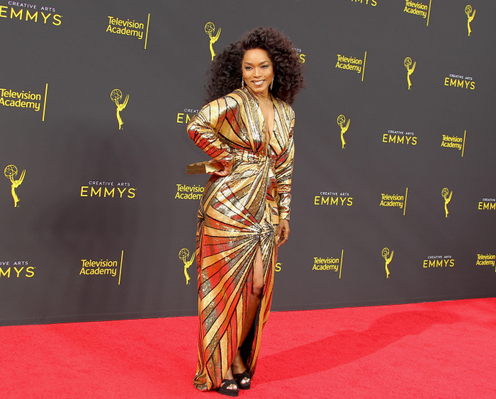 Angela Bassett au Creative Arts Emmy 2019