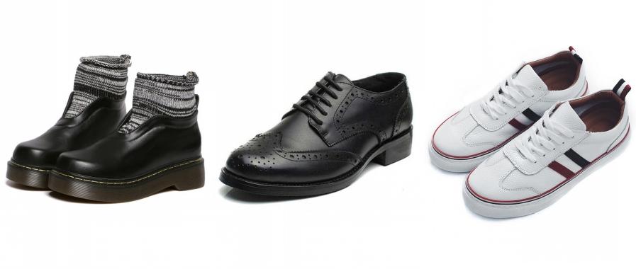 chaussures pour l'automne persun