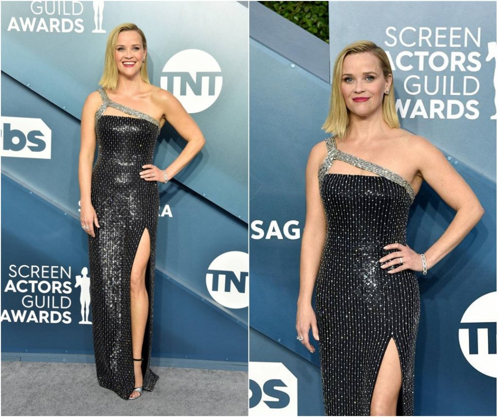 look de Reese Witherspoon au tapis rouge de sag awards 2020