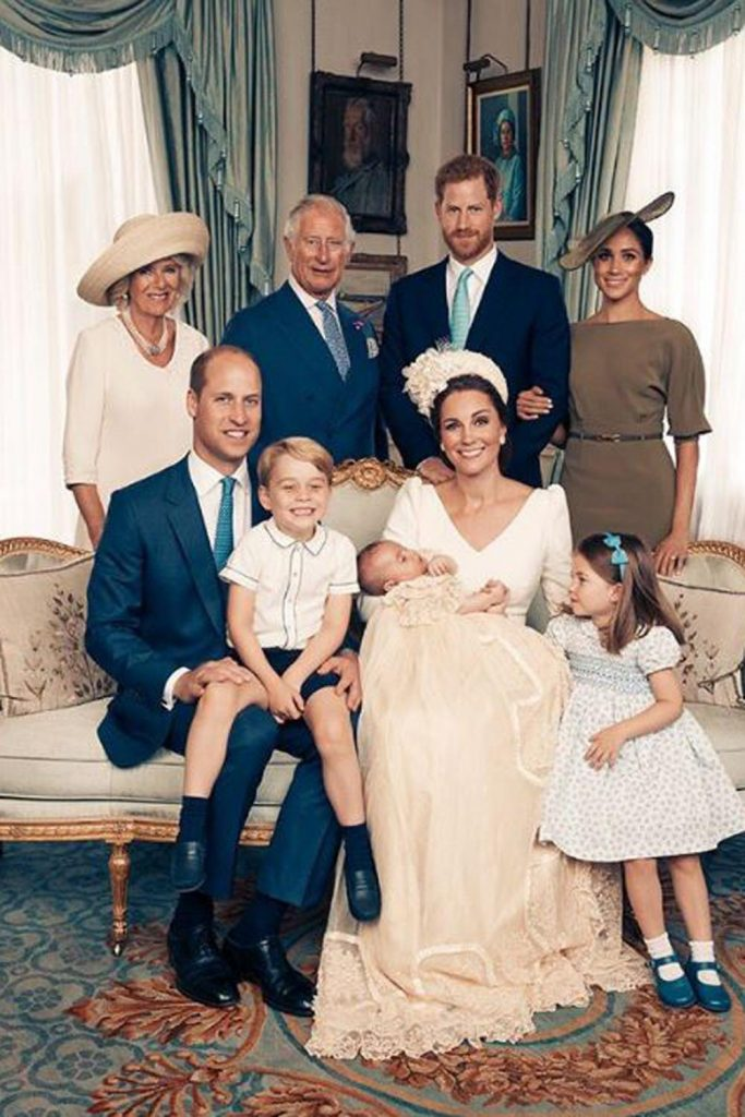 photo royale baptême prince Louis