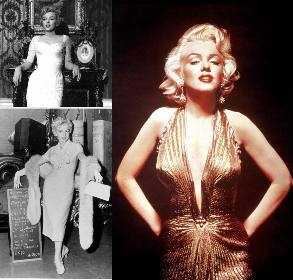 robe célèbre et chic de Marilyn Monroe