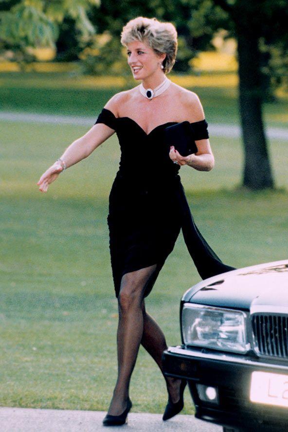 petite robe de noire de lady Di