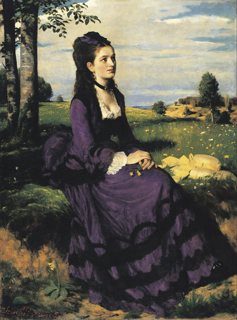 Lady in Violet,1874