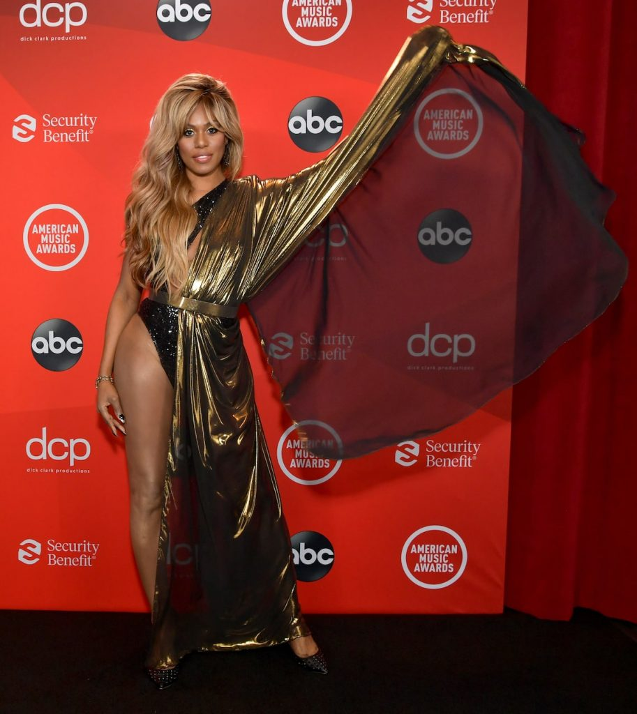 Laverne Cox aux American Music Awards