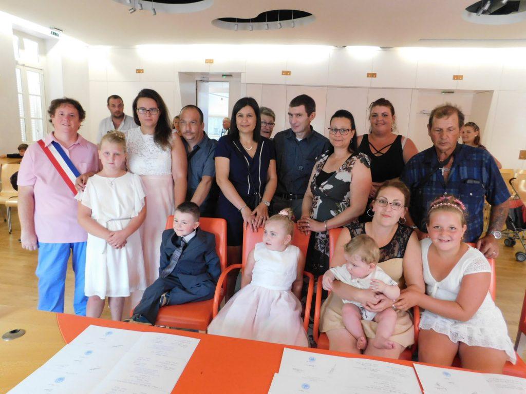 cérémonie civile des enfants